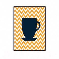 거실 주방 커피 인테리어 액자_컵B