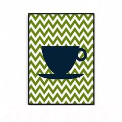 거실 주방 커피 인테리어 액자_컵A