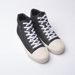[로일로일] Destroyed Sneakers  High [Black]