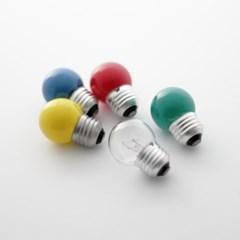 [일광전구] 볼 전구 G40 Color