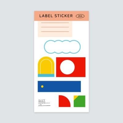 LABEL 스티커