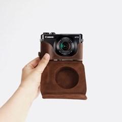 캐논 g7x mark2 카메라 케이스 넥스트랩 쵸코 가방 파우치