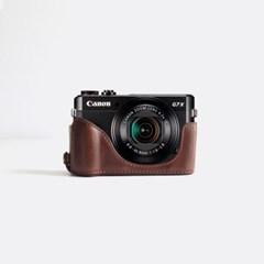 캐논 Canon g7x mark2 하프 속사 케이스 카메라 가방