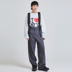 suspender wide pants (2 color) - UNISEX_(1045027)
