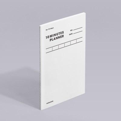 텐미닛 플래너 31DAYS - 화이트 1EA