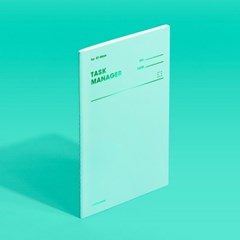 [모트모트] 태스크 매니저 31DAYS 컬러칩 - 그리너리 1EA