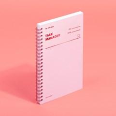 [모트모트] 태스크 매니저 100DAYS 컬러칩 - 로즈쿼츠 1EA