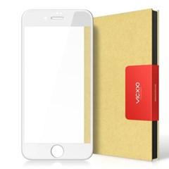 아이폰6플러스 풀커버 강화유리 액정보호 필름 화이트