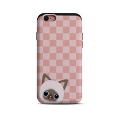 Minicats_Naomi / Pink check