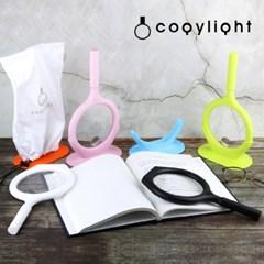 코지라이트 LED 핸드형 돋보기 (고급형_국산_ 받침대 파우치 포함)