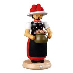스모킹맨 - 꽃병을 든 여인 (25cm)