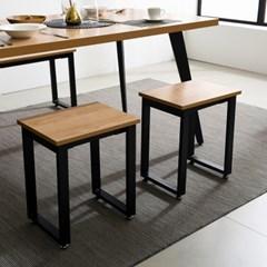 철제 1인의자 식탁 테이블 다리 DIY 조립 프레임_(1860591)