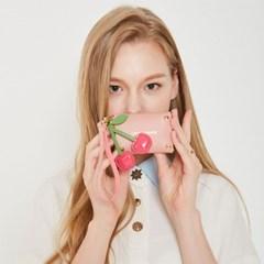 러브참 카드지갑 핑크
