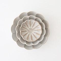 flower series - deep plate (3size)