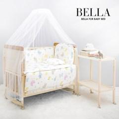 벨라 프리미엄 원목 범퍼 아기침대