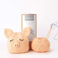 [2019 돼지띠 아기를 위한] 니팅키트- 신생아 돼지 모자