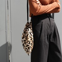 Leopard pouch