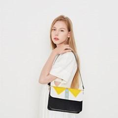 커스터마이징 노란카라 가방