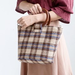 09-체크우드링/여성가방 숄더백 데일리백