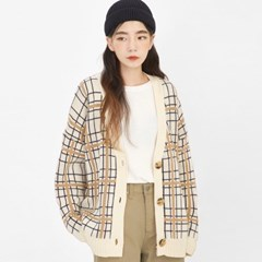 sweet check cardigan_(1047323)