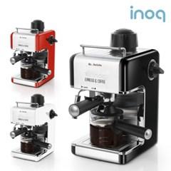 이노크아든 에스프레소 커피머신 CE-1000 (레드/화이트/블랙)