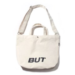 B-LOGO 2WAY BAG-IVORY