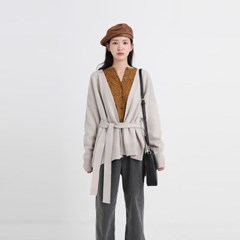wool second robe cardigan (3colors)