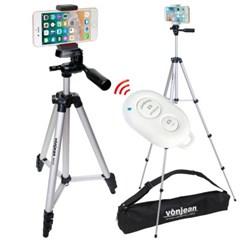 KM-543D 키큰 3way 카메라 스마트폰 삼각대 리모컨 SET