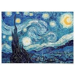 패브릭 포스터 별이 빛나는 밤 명화 그림 액자 반 고흐 no.23