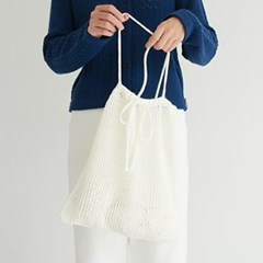 Cute knot knit bag