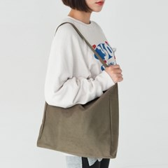 suede 2 color shoulder bag