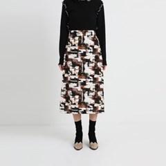 make pattern art skirt (2colors)