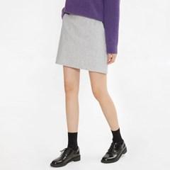 smooth wool mini skirt (s, m)_(1049096)