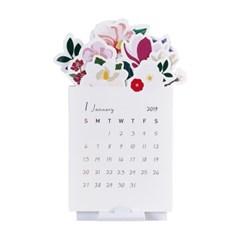 2019 마리몬드 꽃송이 캘린더