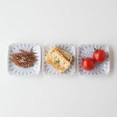 니코트 아미 미니 사각접시 JAPAN