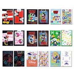 JLCC 디즈니 캐릭터 덱 플레이 카드