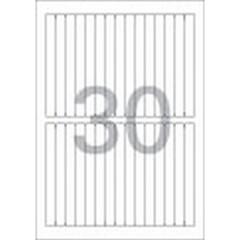 화일인덱스용 라벨(LS-3628/100매/30칸/폼텍)_(13303886)
