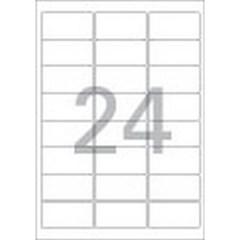 주소용 라벨(LS-3106/100매/24칸/폼텍)_(13303871)