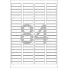 분류표기용 라벨(LS-3623/100매/84칸/폼텍)_(13303875)