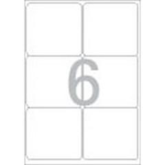 물류관리용 라벨(LS-3116/100매/6칸/폼텍)_(13303879)