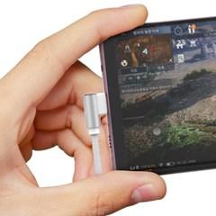 신지모루 앵글 게이밍 L자형 고속충전 핸드폰 케이블
