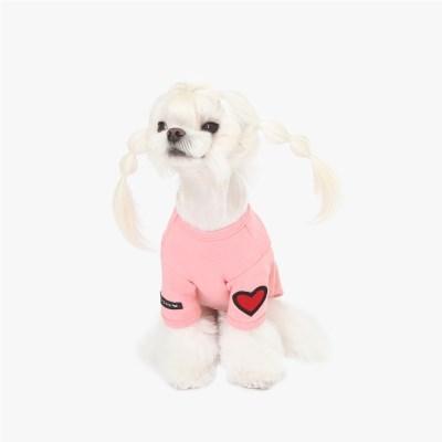 핑퐁하트 스판 티셔츠 (핑크)