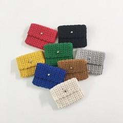 니트 카드 지갑