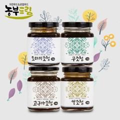농부드림 조청 4종 (도라지, 무, 고구마, 쌀)