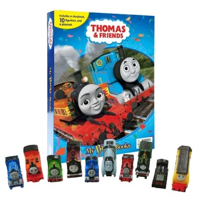 Thomas and Friends #2 : My Busy Books 피규어북
