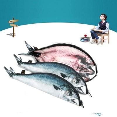 본사정품 고등어 배스 니모 필통 물고기 생선 특이한 파우치