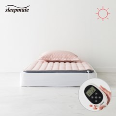 슬립메이트 더시티 핑크 싱글 원적외선모드 온열매트_(1075564)