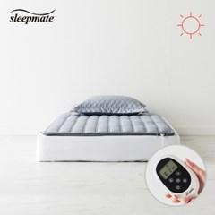 슬립메이트 더시티 그레이 싱글원적외선모드온열매트_(1075565)