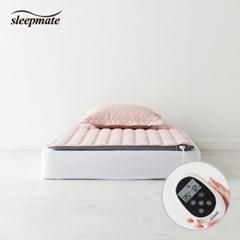 슬립메이트 더시티 핑크 싱글 온열매트_(1075570)