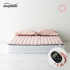 슬립메이트 더시티 핑크 더블 원적외선모드 온열매트_(1075567)